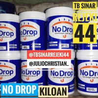 NO DROP / NODROP 1KG - PUTIH - CAT PELAPIS ANTI BOCOR (WATER PROOFING)