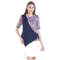 Rianty Batik Atasan Blouse Wanita Violetha