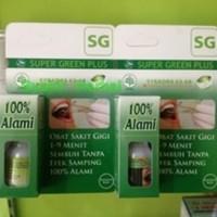 SUPER GREEN PLUS OBAT HERBAL SAKIT GIGI /SGP SG BUKAN HERSAGI
