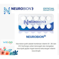 Neurobion Suplement Kesehatan Saraf (Strip isi 10 tablet)