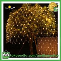 Laimanice Lampu Hias Dekorasi Taman Model Jaring LED 1.5 x 1.5 Meter