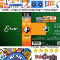 ELIXIR 14002 NANOWEB Plated Senar Gitar Bass 4 String Elixir Ori 40