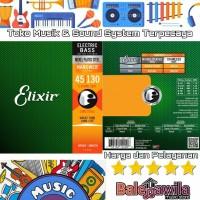 ELIXIR 14202 NANOWEB Plated Senar Gitar Bass 5 String Elixir Ori 45