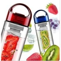 Botol Minum TRITAN Infus Buah Fruit | Filter Dari Kaca Infused OK