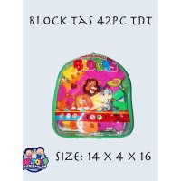 MAINAN BLOCK TAS 42 PC MINI