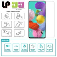 LP HD Tempered Glass Samsung Galaxy A71 - Kaca Original Bening Clear