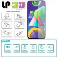 LP HD Tempered Glass Samsung Galaxy A31 - Kaca Original Bening Clear