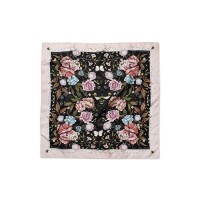 Signature Floral Square Silk Scarf Olivia Burton OB16SC10