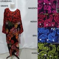 Long Dress Jumbo Baju Daster Pakaian Tidur Batik Pekalongan 20