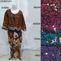 Long Dress Jumbo Baju Daster Pakaian Tidur Batik Pekalongan 31
