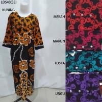 Long Dress Baju Daster Pakaian Tidur Batik Pekalongan 40