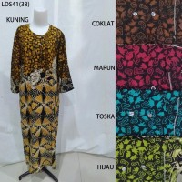 Long Dress Baju Daster Pakaian Tidur Batik Pekalongan 41
