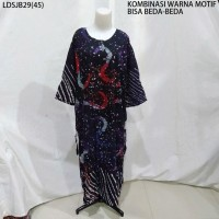 Long Dress Jumbo Baju Daster Pakaian Tidur Batik Pekalongan 29