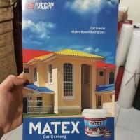 CAT GENTENG MATEX NIPPON PAINT 2,5 LITER