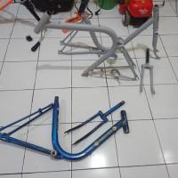 frame sepeda minitrek ukuran 20 belum di cat