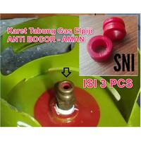 Karet Gas LPG elpiji / Kompor Gas Anti Bocor Aman 3 12 KG