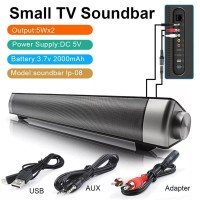 speaker BT portable super bass home theater remote sound bar HQ stereo