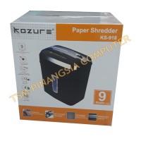 Kozure KS-918 / Kozure KS918 Mesin penghancur Kertas - Paper Shredder