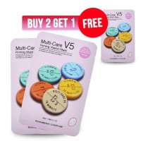 BUY 2 GET 1 FREE - L'affair Face Mask Multicare V5 Firming