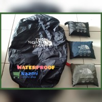 RAIN COVER OUTDOOR COVER BAG CAMPING 80 LITER TERMURAH