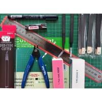 Gundam Build Strike Ruler Set - Model Kit Gundam Tool