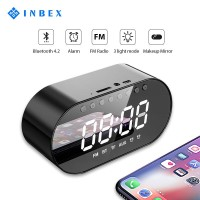 INBEX Speaker/Alarm Clock Bluetooth Speaker Waterproof Hi-Fi /TF USB