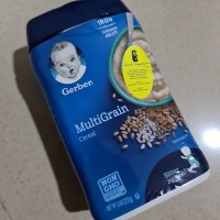 Gerber Baby Food: MultiGrain Cereal