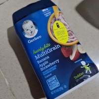 Gerber Baby Food: Multigrain Banana Apple Strawberry