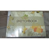 Sketchbook Kiky Original Buku Gambar A4 50 sheets