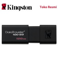 Kingston Flash Disk DataTraveler 100 G3 128GB USB3.1