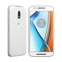 Motorola Moto E3 Power - 2/16GB + Free Flip Cover Moto Shells - White