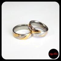cincin pria wanita titanium xk28