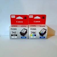 Paket catridge canon 745s / 746s black and colour Original