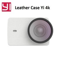ORIGINAL Leather Case With UV Filter For Xiaomi Yi 2 4K Lite 4K Plus