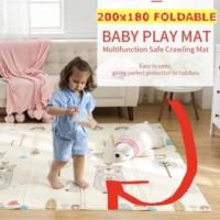 Baby Play Mat Playmat Matras Main Bayi Foam Lipat uk JUMBO 200 x 180 c