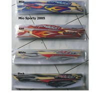 STRIPING / STIKER / LISH MIO SPORTY 2005