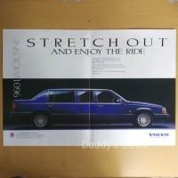 Poster Iklan mobil VOLVO 960 Limousine majalah lama dokumentasi
