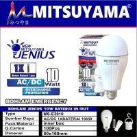 Bohlam lampu emergency LED 10W MS E3910 Mitsuyama