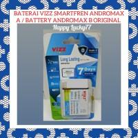 Baterai Vizz Smartfren Andromax A / Battery Andromax B Original