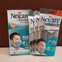 Masker 3M Nexcare Carbon 1 box isi 12 packs (36masker)