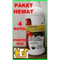 PHEFOC HCS Isi 4 Botol Obat untuk Membasmi Hama Tanaman