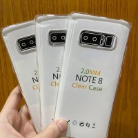 Samsung Note 8 Clear Case 2mm Transparant Premium Soft Case