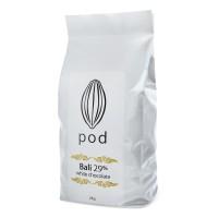 PODCHOCOLATE Creamy White – 2kg Drops Bali Chocolate