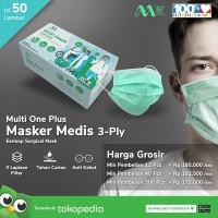 Masker Multi One Plus Surgical Kaya Masker Sensi Diapro Skrineer 3M