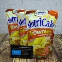 Nutri Cake Brownies Rasa Coklat & Pisang .