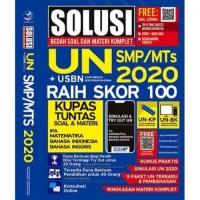 Buku Solusi Bedah Soal Dan Materi Komplet UN + USBN 2020 SMP/MTs Raih