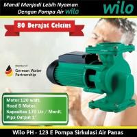 Wilo Pompa Air Water Pump PH - 123 E Pompa Sirkulasi Air Panas pa