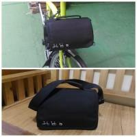 Limited Brompton Mini Front Bag Black - Tas Mini Sepeda Lipat Dah