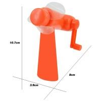 Kipas Mini Manual Portabel Bahan Plastik Ramah Lingkungan Tanpa Bate