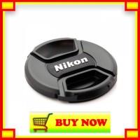 QU378 Tutup Lensa Lenscap For Nikon - 55mm